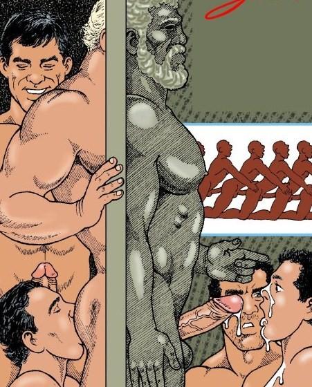 порно комиксы джулиуса на русском